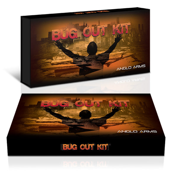 Bug Out Set - Lock Knife Deluxe Fire Lighter And Multi Tool Gift Box Set
