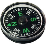 Novelty button compass
