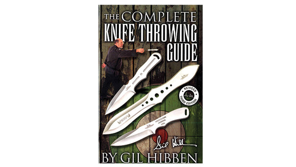 United Cutlery Gil HIbben Throwing Guide Fourth Edition TO ORDER