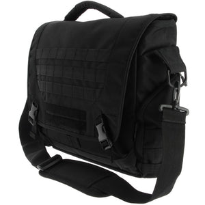 Molle messenger shooter game laptop man bag black