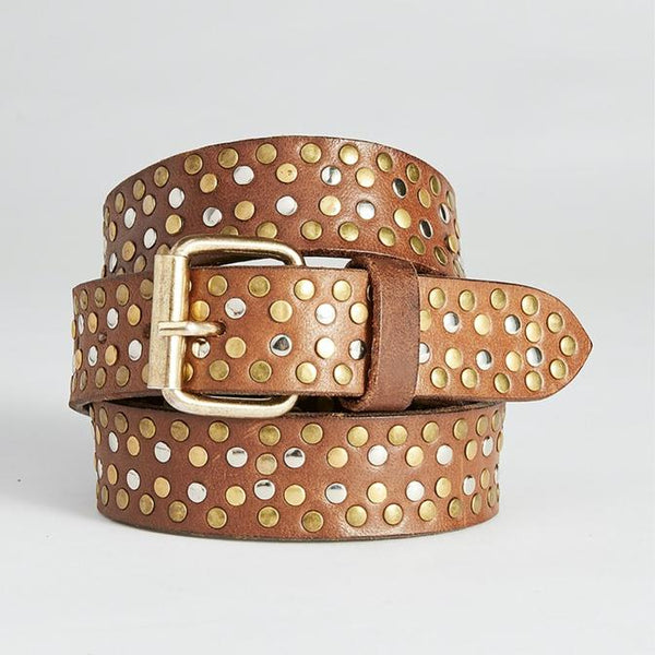 caravan & co tom leather belt