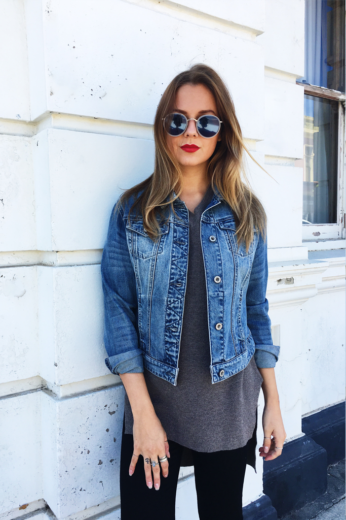 daphne denim jacket