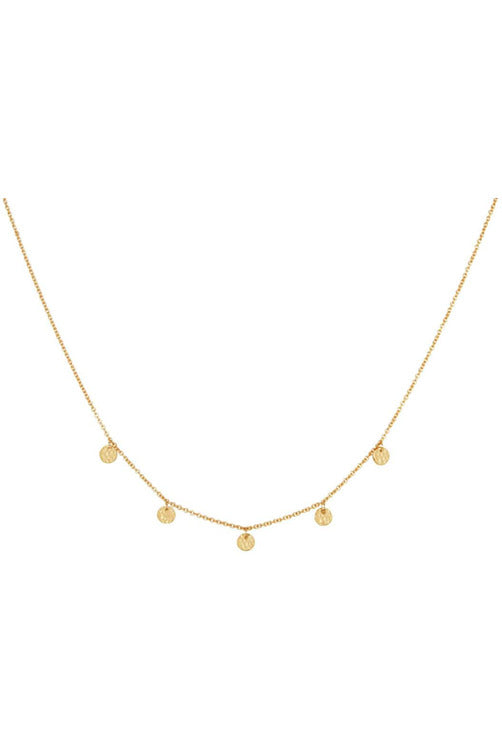 murkani grace choker necklace gold