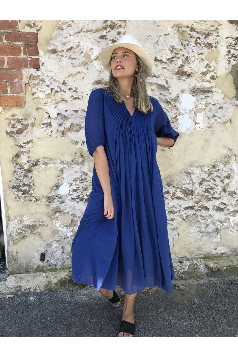 celeste dress navy ivy & Isabel