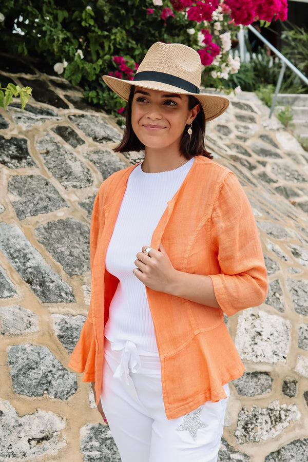 haris cotton jkt-2137 orange