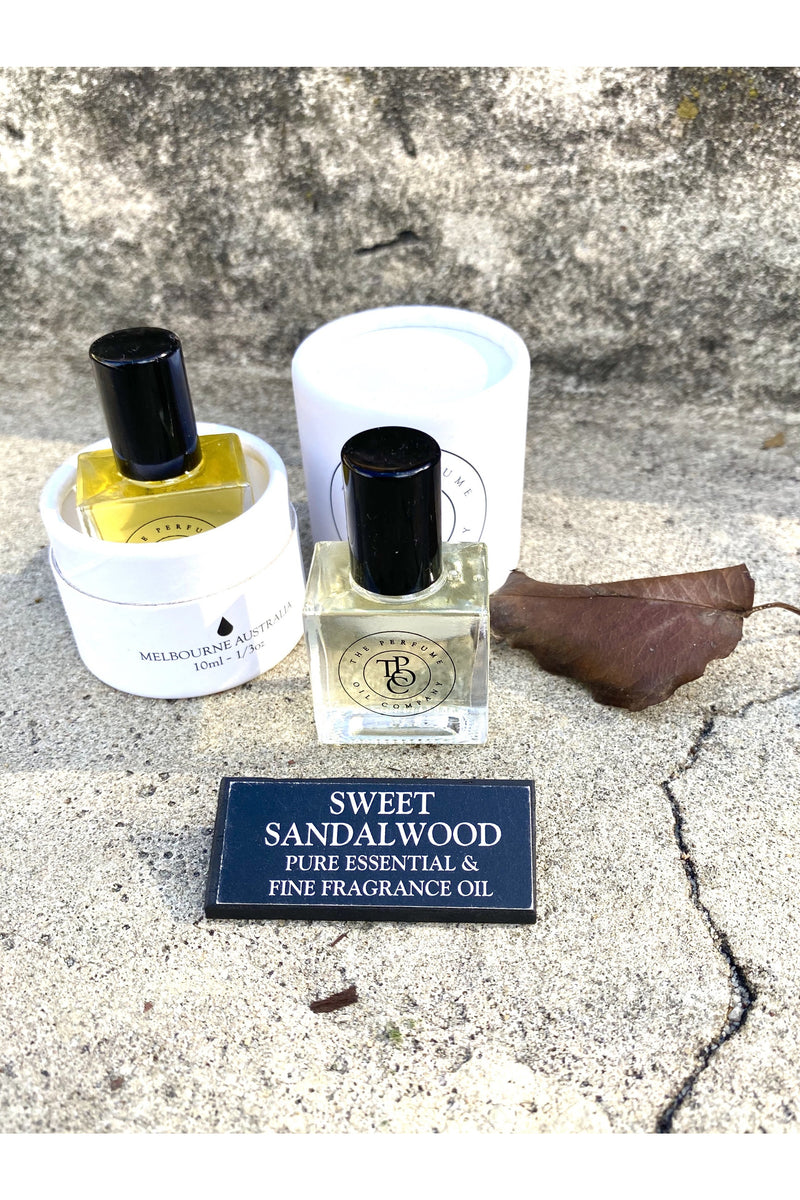 the perfume oil company SWEET SANDALWOOD