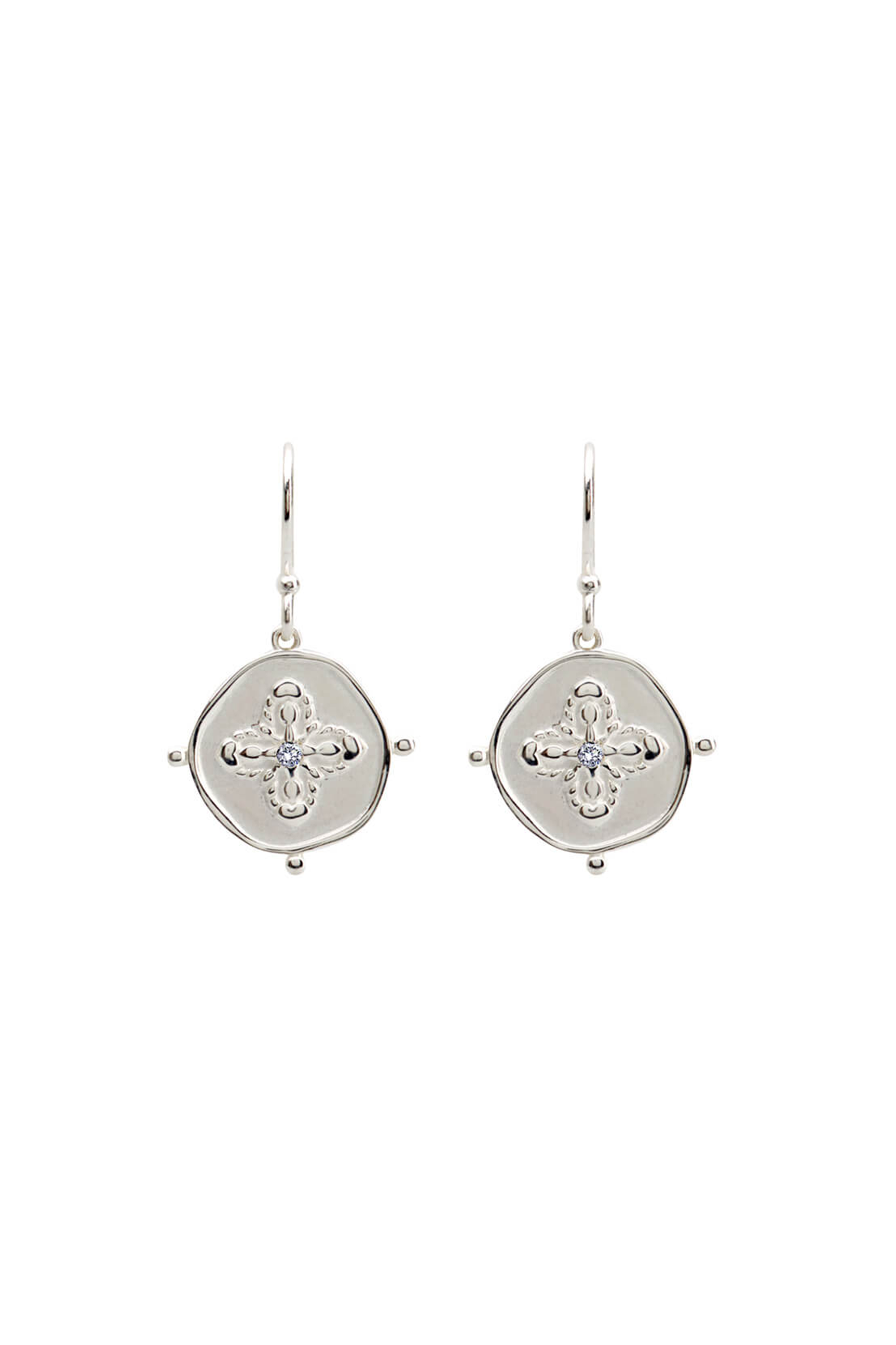 Murkani Sahara Small Earrings Silver