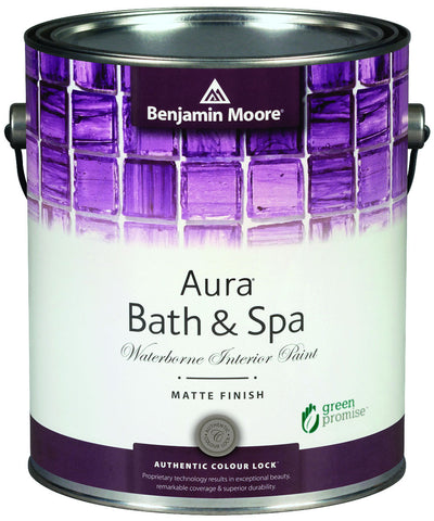 Benjamin Moore Aura Bath & Spa Waterborne Interior Matte Finish K532