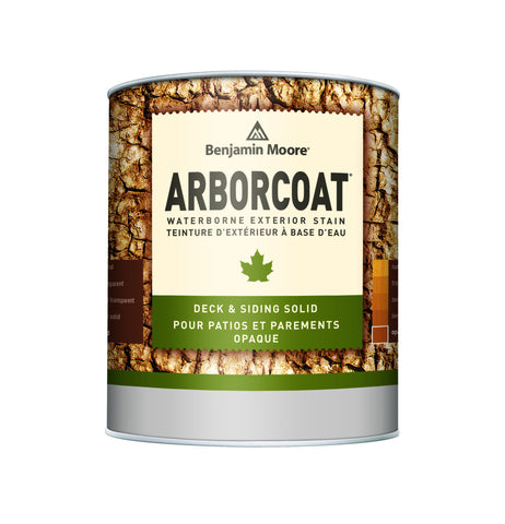 ARBORCOAT Advanced Waterborne Exterior Solid Deck and Siding Stain K640