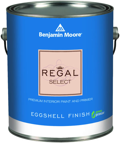 Benjamin Moore Regal Select Waterborne Interior Eggshell Finish K549