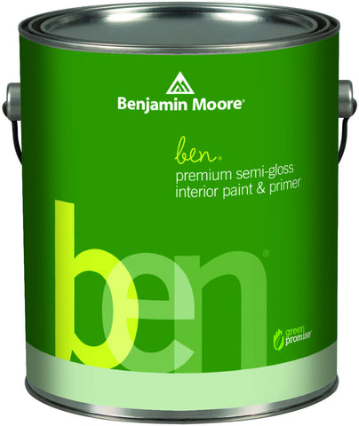 ben Waterborne Premium Interior Semi-Gloss Finish K627