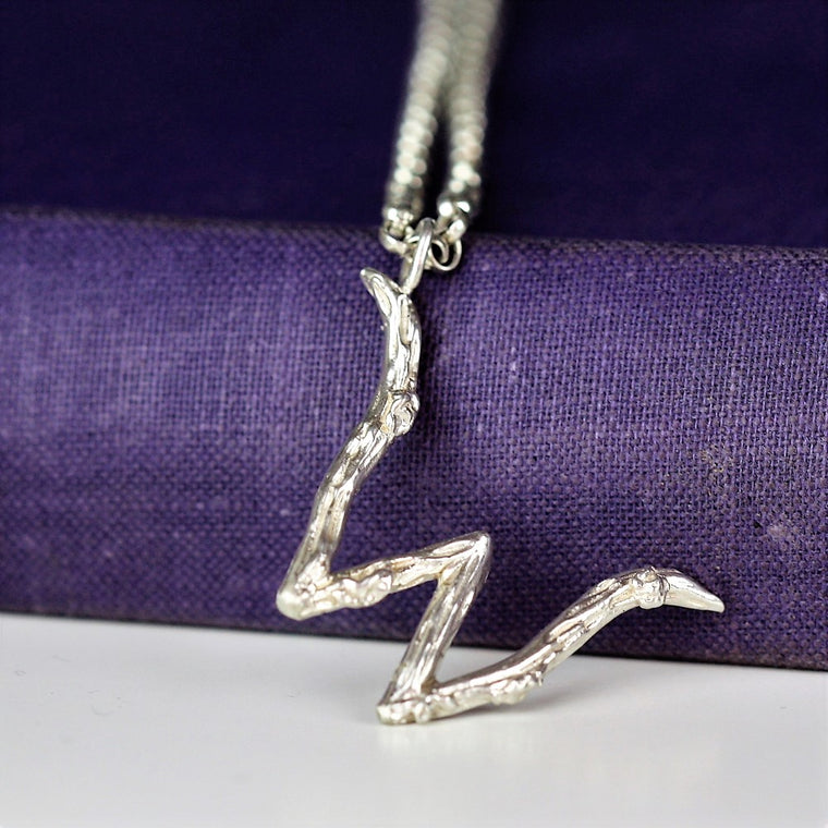 Twig Initial Necklace - A to Z