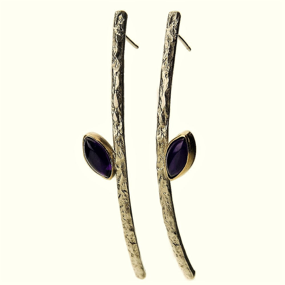 Marquise Treasure long Earrings