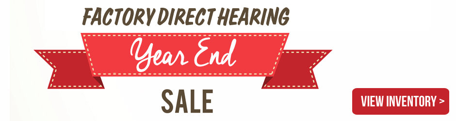 Year End Hearing Aid Sale