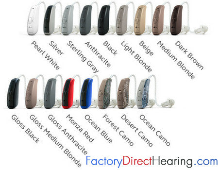 Pair - LiNX 3D 7 ReSound Hearing Aids