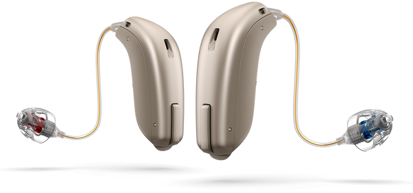 Pair - Oticon OPN 1 miniRITE Hearing Aids (iPhone Compatible)