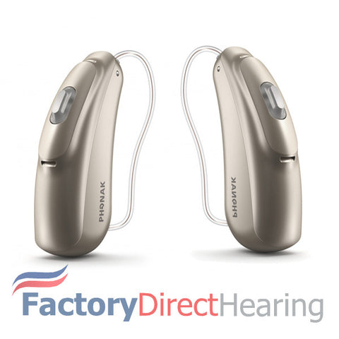 Pair - Phonak Audeo B-R Belong B70-R (Rechargeable)