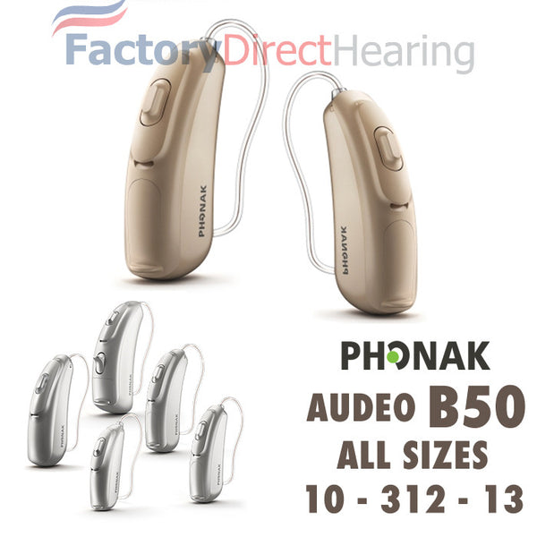Pair - Phonak Belong Audeo B50 (10, 312, 13)