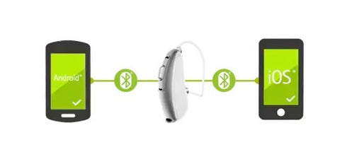Pair - Phonak Audeo B50 Direct to iPhone & Android