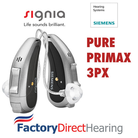 Single - Siemens Signia Pure Primax 3Px Hearing Aid