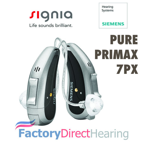 Single - Siemens Signia Pure Primax 7Px Hearing Aid