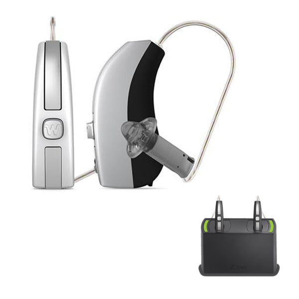 Pair - Widex Beyond 330 Hearing Aids (iPhone Direct) + Rechargeable Bundle