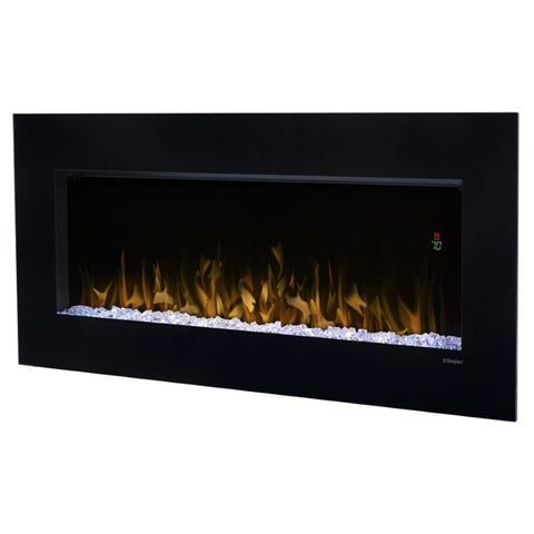 "Dimplex Nicole 43"" Electric Fireplace Wall-Mounted With Acrylic Ember Bed - DWF3651B"