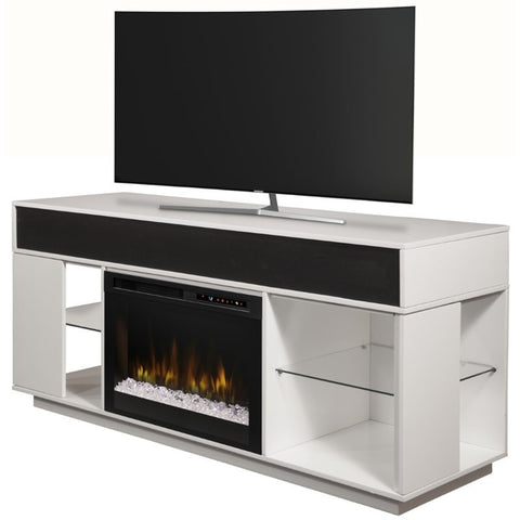 Dimplex Audio Flex Lex Media Console Electric Fireplace With Acrylic Ember Bed - GDS26G8-1836W
