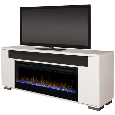 Dimplex Haley Media Console Electric Fireplace With Acrylic Ember Bed - GDS50G5-1671W