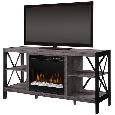 Dimplex Ramona Media Console Electric Fireplace With Glass Ember Bed - GDS23G8-1974AU
