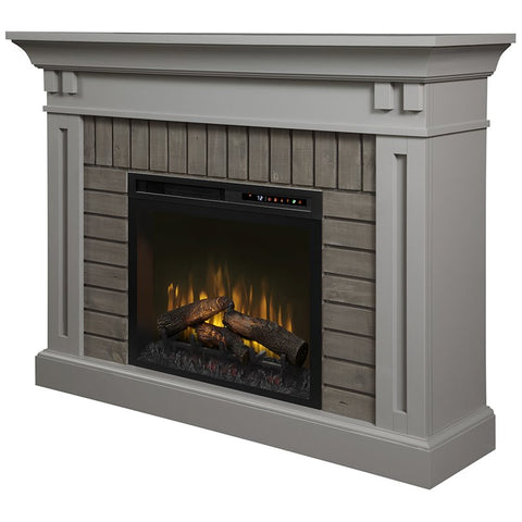 Dimplex Madison Electric Fireplace Mantel With Logs - GDS28L8-1968SG