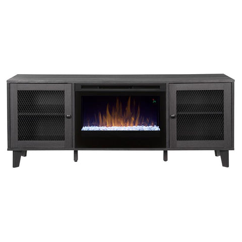Dimplex Dean Media Console Electric Fireplace with Glass Ember Bed - GDS25G5-1909WI