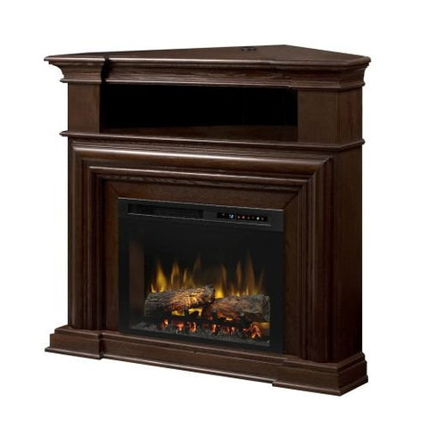 "Dimplex Montgomery Media Console Electric Fireplace With Logs for TVs up to 46"", Espresso - GDS25L8-1057E"