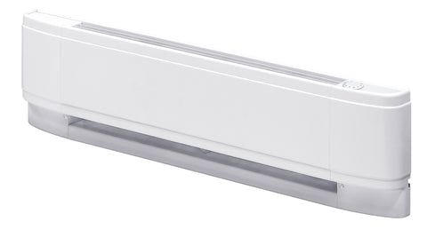 "Dimplex Linear Convector Baseboard Heater 25"", 500W, 208V, White - LCM2505W21"