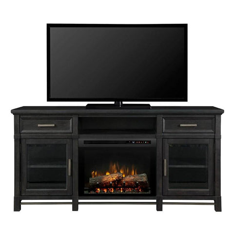 Dimplex Jane Media Console Fireplace With Logs - GDS26L8-4480IW