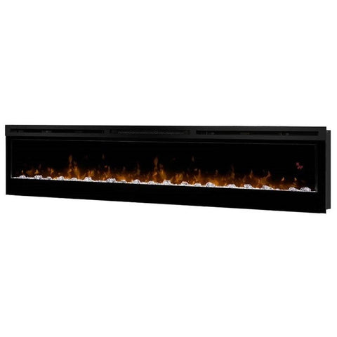 "Dimplex Prism 74"" Electric Fireplace Wall-Mounted With Acrylic Ember Bed - BLF7451"