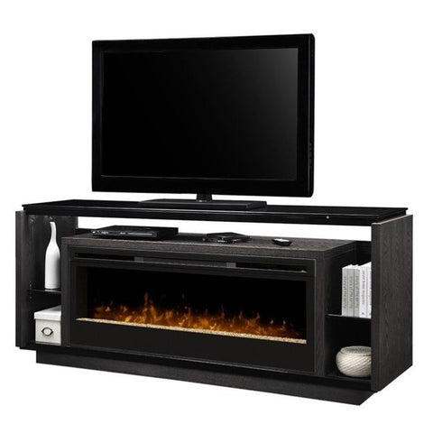Dimplex David Media Console Electric Fireplace With Acrylic Ember Bed - GDS50G3-1592SM