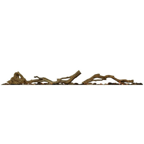 "Dimplex Accessory Driftwood For 50"" Linear Firebox - LF50DWS-KIT"