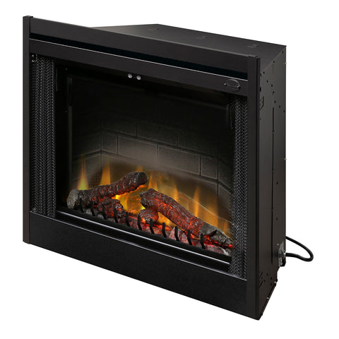 "Dimplex 33"" Deluxe Built-In Electric Firebox With Logs - BF33DXP"