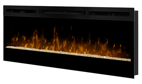 Dimplex Synergy 50-Inch Wall Mount Electric Fireplace with Glass Ember Bed - BLF50