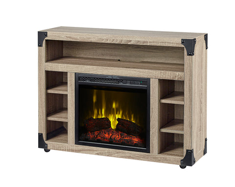 Dimplex Chelsea 18-Inch Electric Fireplace - Logs- Oak- Distressed Medium - C3P18LJ-2086DO