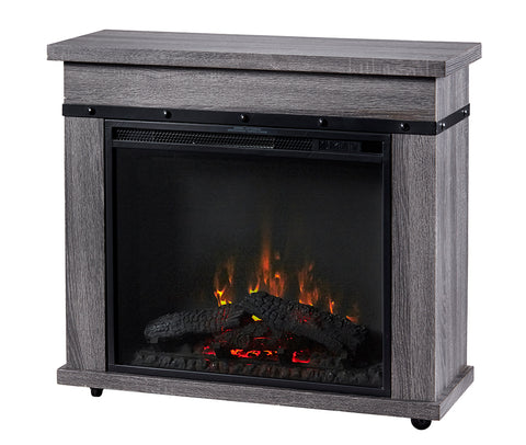 "Dimplex Morgan Mantel with 23"" Electric Fireplace - Graphite - C3P23LJ-2085CO"