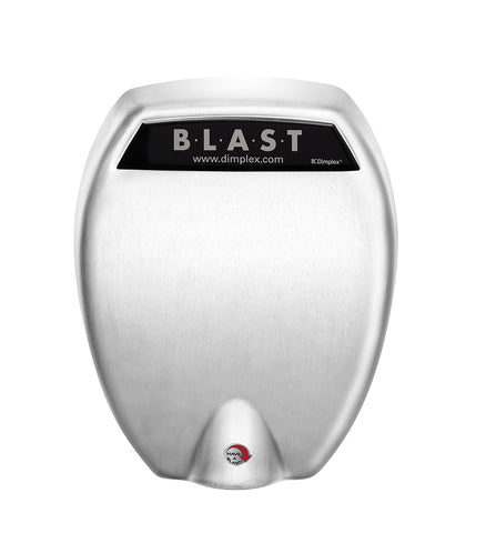 Dimplex BLAST Series Commercial Hand Dryer, Brushed Stainless Steel - DC20022BSS