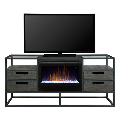 Dimplex Ivan Media Console Electric Fireplace (Acrylic Ice) - GDS25G5-4034NB