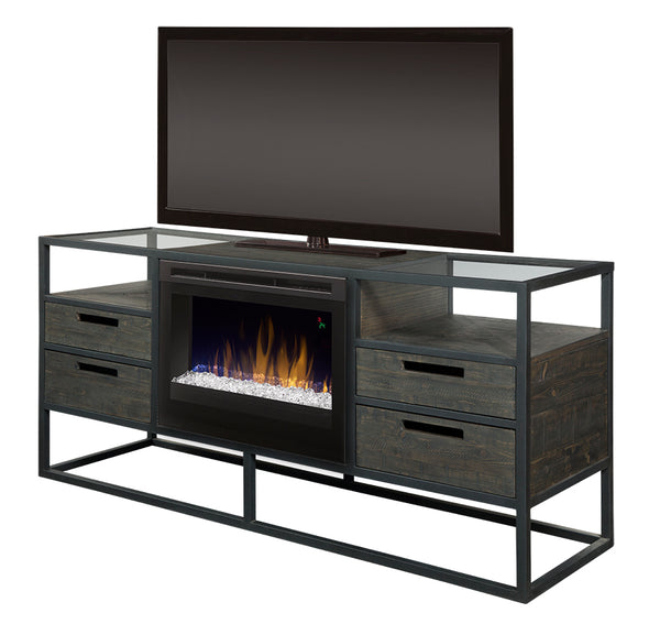 Magnificent Dimplex Ivan Media Console Electric Fireplace Acrylic Ice Gds25Gd 4034Nb Home Interior And Landscaping Palasignezvosmurscom