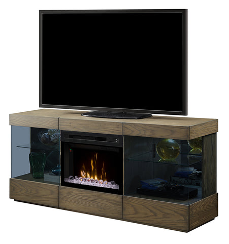 Dimplex Axel Media Console Electric Fireplace With Glass Ember Bed - GDS25GD-1583RS