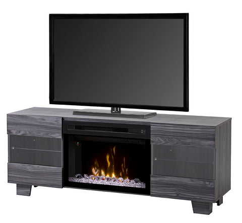 Dimplex Max Media Console Electric Fireplace With Acrylic Ember Bed - GDS25GD-1651CW
