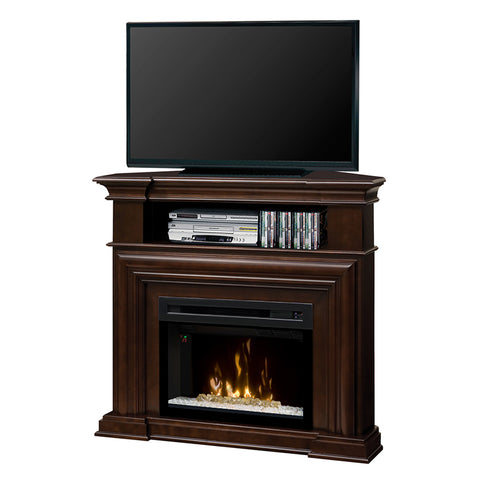 Dimplex Montgomery Corner Electric Fireplace Media Console - GDS25G5-1057E