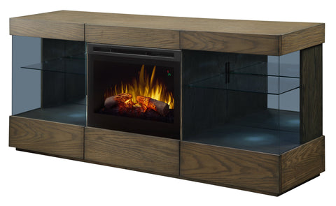 Axel TV Stand with Electric Fireplace #GDS25GD-1583RSRM