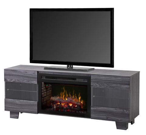 Dimplex Max Media Console Electric Fireplace With Logs - GDS25LD-1651CW